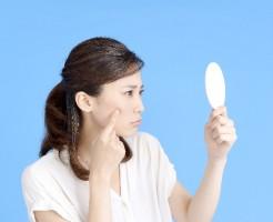 妊娠初期症状の肌荒れ
