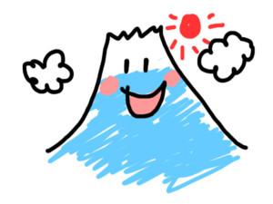 人気の妊活のジンクス!妊婦さんが陣痛中に書いた富士山の絵