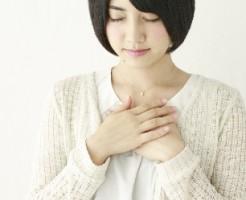 妊娠の超初期症状の胸の張り